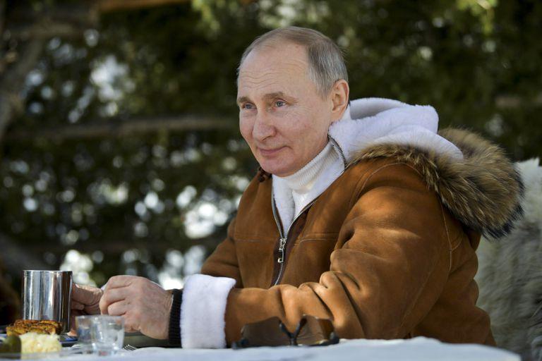 Putin descansó el fin de semana en Siberia