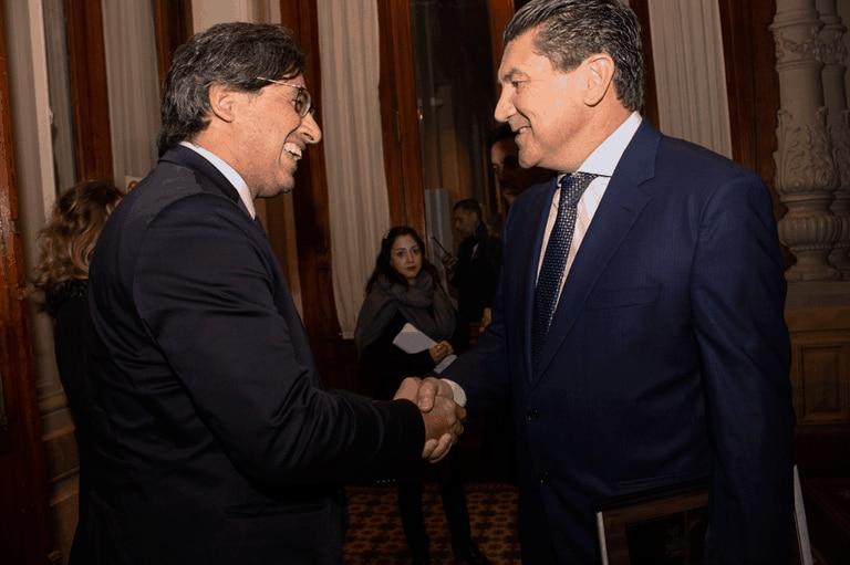 El ministro Garavano, en el acto de reconocimiento a Daniel Ricart
