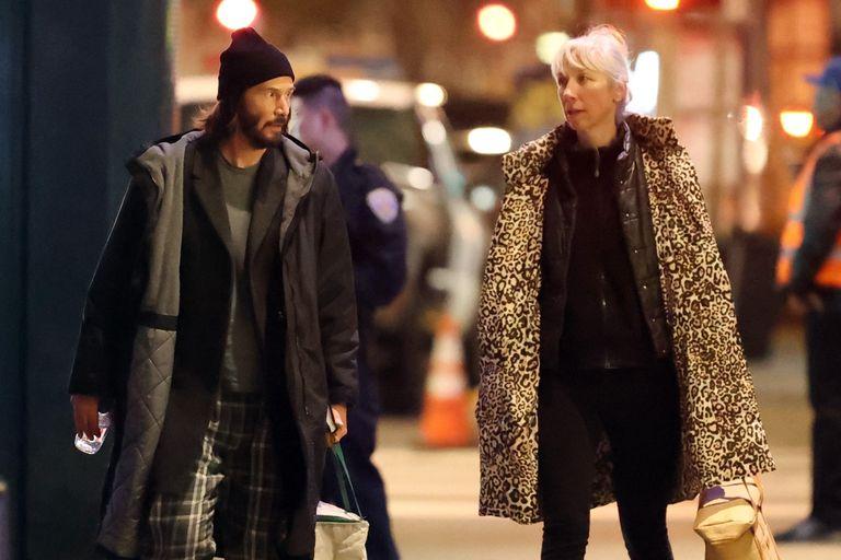 Muy distendido, el actor fue visto paseando por San Francisco junto a su novia, Alexandra Grant