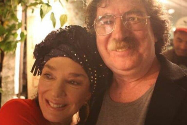 La actriz le dedicó unas dulces palabras al artista, quien se encuentra internado