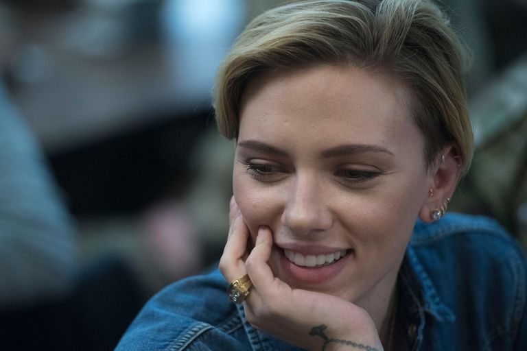Scarlett está de visita en la Argentina