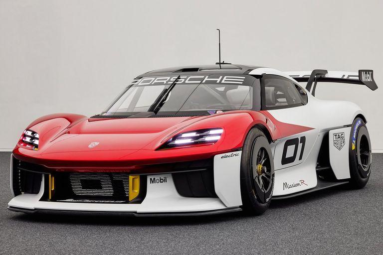 Salón de Munich 2021: Porsche Mission R, la caballería eléctrica al ataque