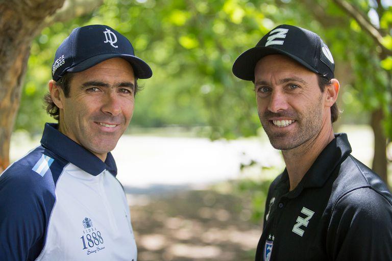 Hoy integrantes de equipos archirrivales, Juanma y Facu compartieron Ellerstina entre 2008 y 2010 y lograron la Triple Corona en ese último año; su relación es excelente.