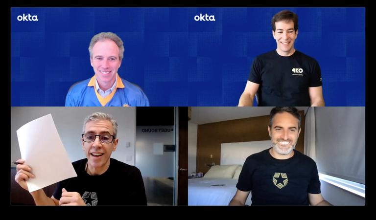 Eugenio Pace y Matías Woloski, en tratativas para vender la empresa a Okta