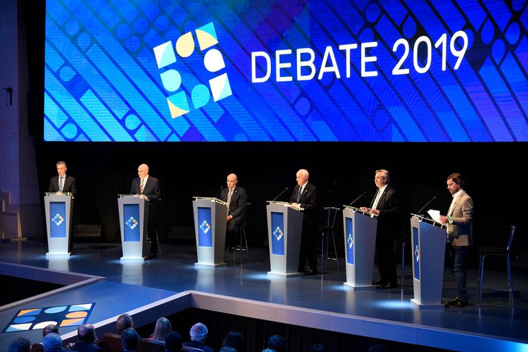 A qué hora es el debate presidencial de hoy, 20 de octubre