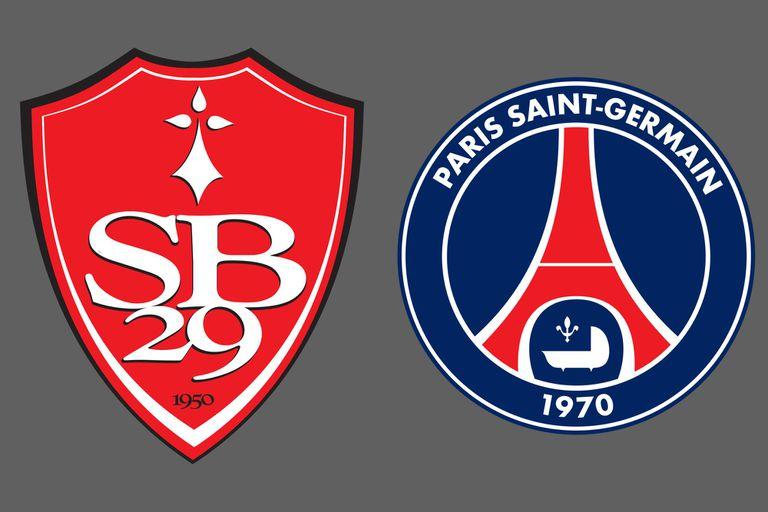 Brest - PSG, Ligue 1 de Francia: el partido de la jornada 38