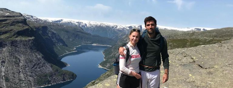 Exilio joven. Viajó a Noruega por amor y consiguió una oportunidad laboral única
