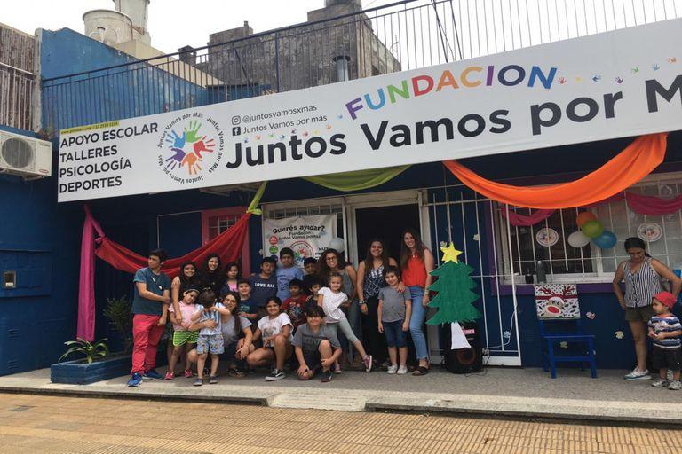 La sede de Juntos Vamos por Más está ubicada en el barrio de Martínez.