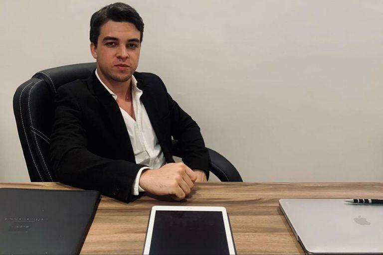 Malcolm Cash, uno de los socios de la empresa que se dedica a la representación de pymes licoreras en Europa