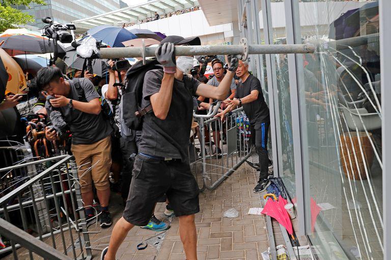 Desde hace semanas Hong Kong registra masivas marchas contra el gobierno chino
