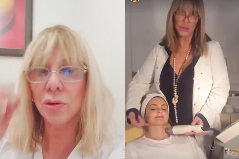 La cosmetóloga de los famosos salió a dar su versión de los hechos luego de que le clausuraran el local