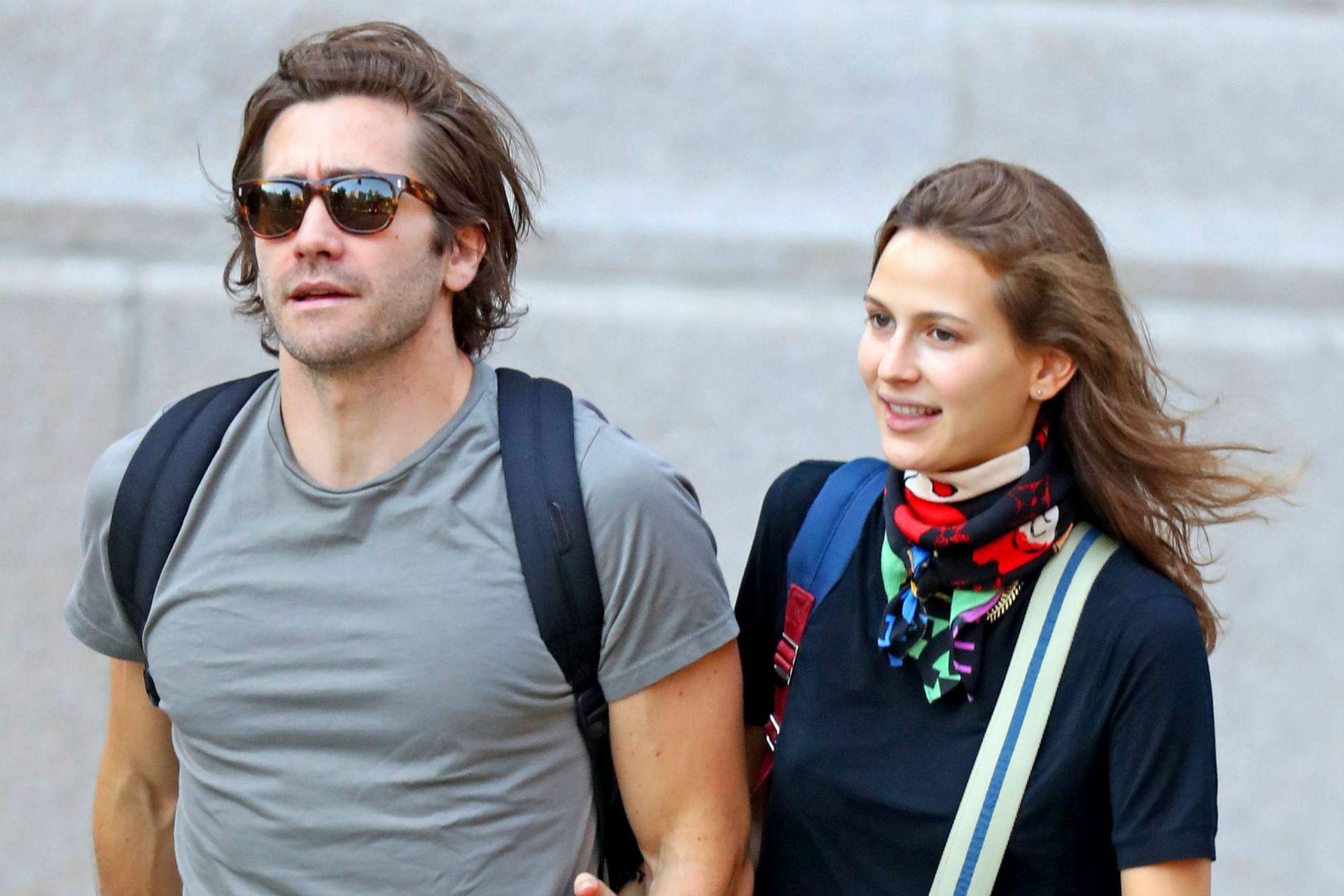 Jake Gyllenhaal y Jeanne Cadieu fueron fotografiados por primera vez en Nueva York en 2018