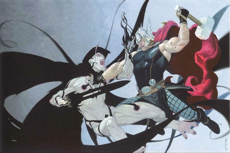 Thor contra Gorr, el carnicero de dioses