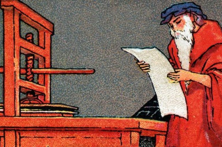 Imprenta. Cambió el curso de la historia, pero su invento lo llevó a la ruina