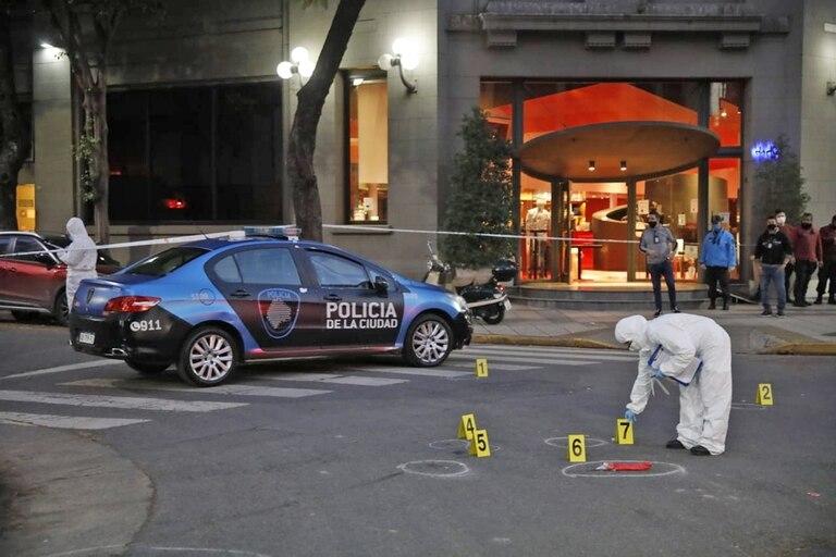 Los peritajes en la escena del crimen