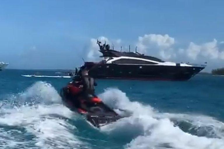 """El """"Canelo Ship"""". El lujoso yate de 60 millones de dólares de Canelo Álvarez"""