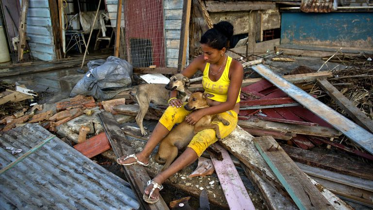 Lo que quedó en Isabela sa Sagua, en Cuba