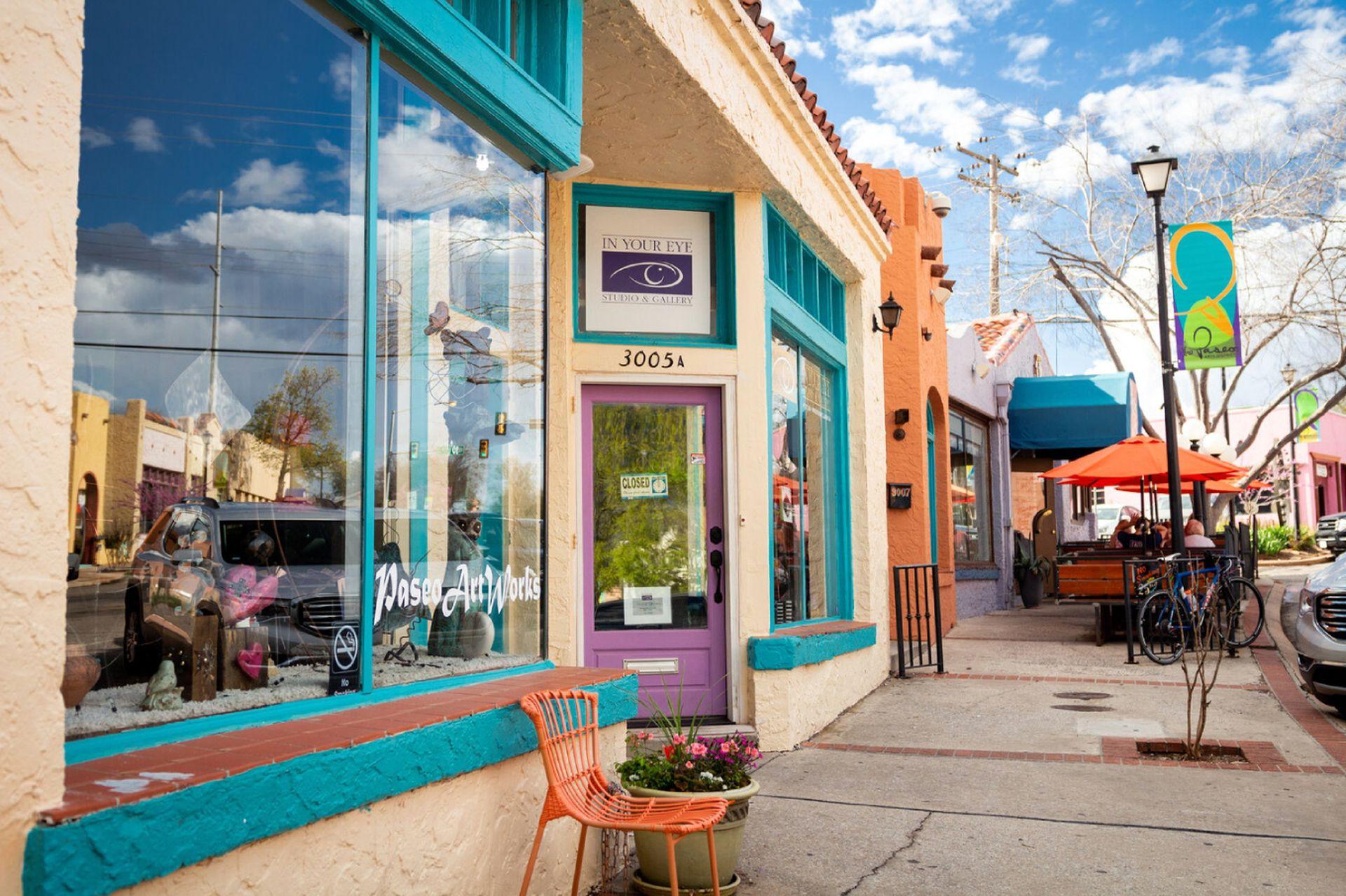 The Paseo, es el barrio de los artistas de Oklahoma City, con más de 20 galerías.