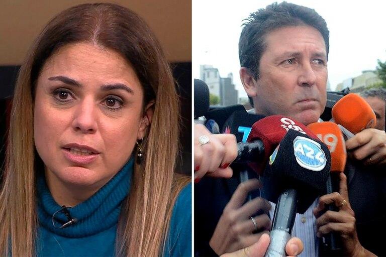 """Marina Calabró, sobre la condena a su excuñado Fabián Rossi: """"Celebro que la Justicia funcione"""""""