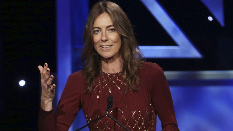 Kathryn Bigelow alzó el Oscar en 2010 por su película The Hurt Locker; venció a Avatar, de su exmarido James Cameron