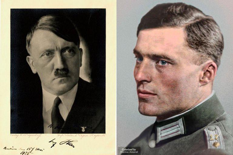 El coronel Stauffenberg rápidamente se convirtió en un detractor  secreto de Hitler