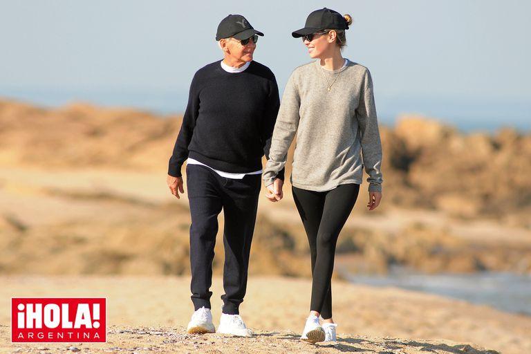 Eduardo Costantini: días de amor y besos en la playa con su mujer, Elina