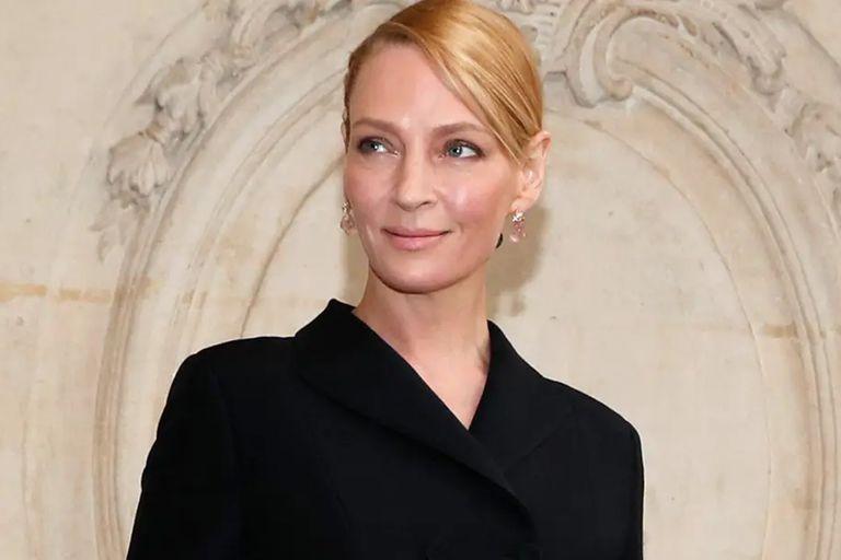 Uma Thurman es nieta de la baronesa Birgit Holmquist