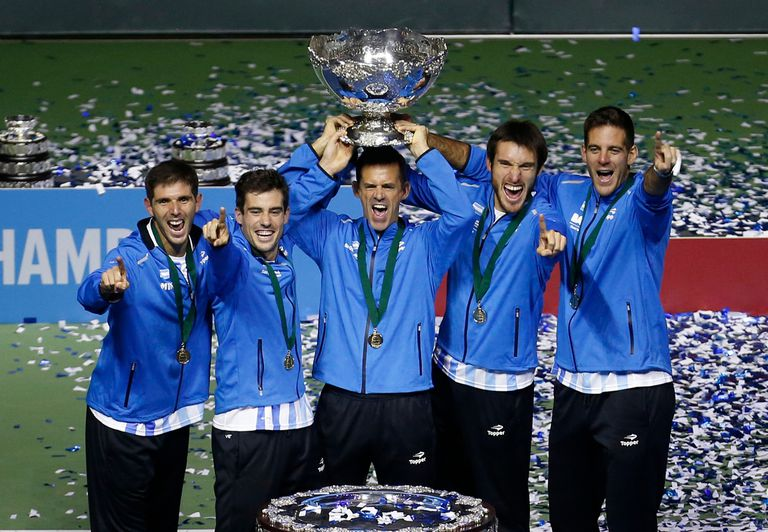 El equipo argentino de la Copa Davis que hizo historia al obtener la ensaladera de plata en 2016