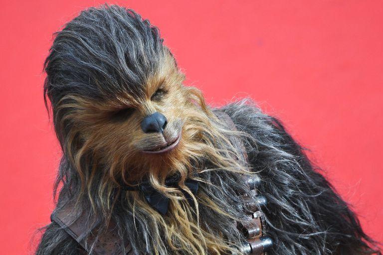 Chewbacca acaparó todas las miradas