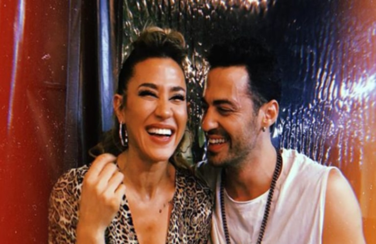 Jimena Barón y Caiazza se despiertan con fuego intenso, al menos en Instagram
