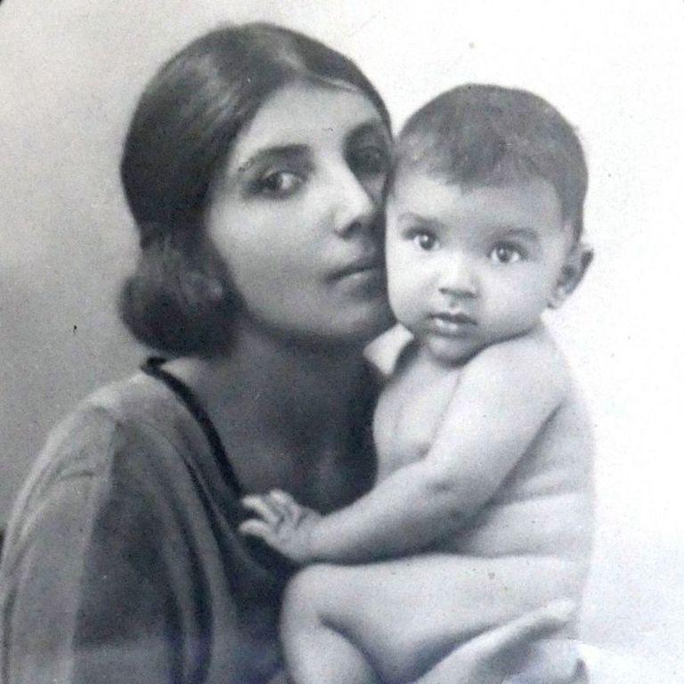 Con su marido francés Dorothy tuvo dos hijos