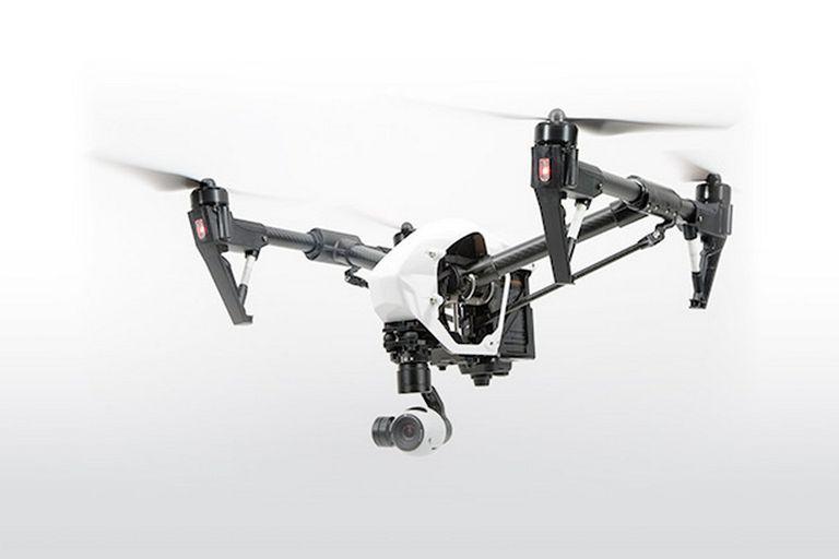 El Inspire 1 de DJI, equipado con una cámara 4K