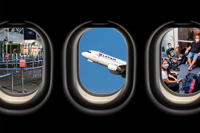 Menos vuelos, aerolíneas que se van y argentinos que siguen varados en el mundo, la imagen de un sector que no logra despegar