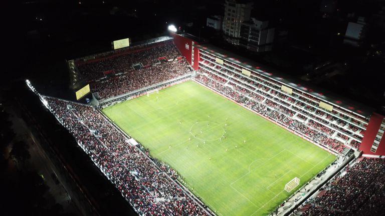 Estadio Estudiantes. Foto: Signify