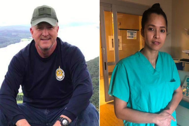 """La historia de una enfermera y un paciente con covid que """"se curaron mutuamente"""""""