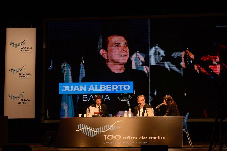 Juan Alberto Badía, una de las grandes figuras recordadas durante la transmisión
