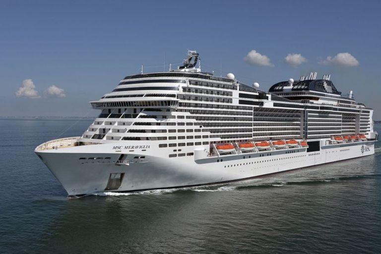 El crucero MSC Meraviglia