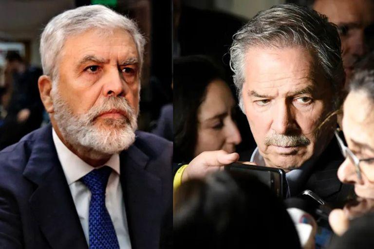 """Julio De Vido, contra Felipe Solá: """"Eras gobernador cuando la bonaerense mató a Kosteki y Santillán"""""""