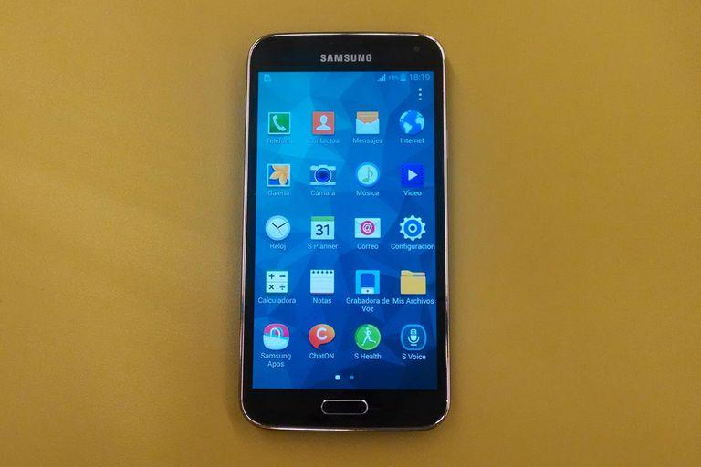 El Samsung Galaxy S5 tiene una pantalla de 5,1 pulgadas