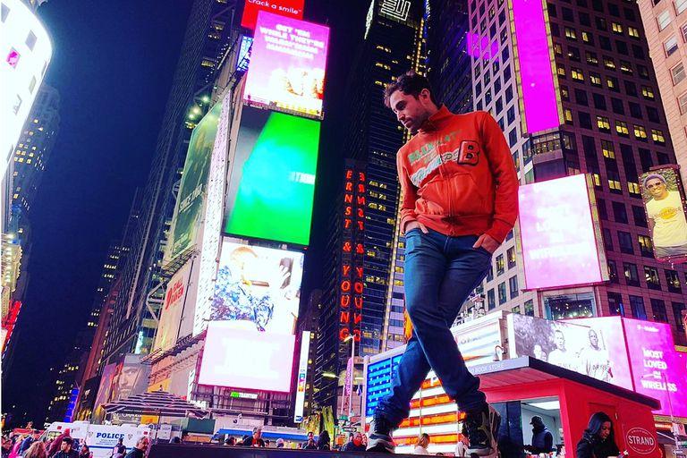 Rodolfo Santamarina, un bailarín argentino que cumplió su sueño de llegar a Broadway