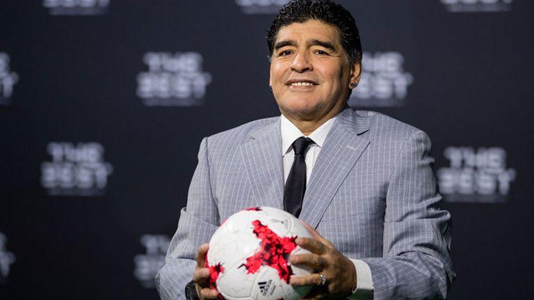 Maradona estará en el sorteo del Mundial Rusia 2018