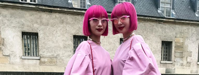 Street Style. Vestirse de UN color es tendencia