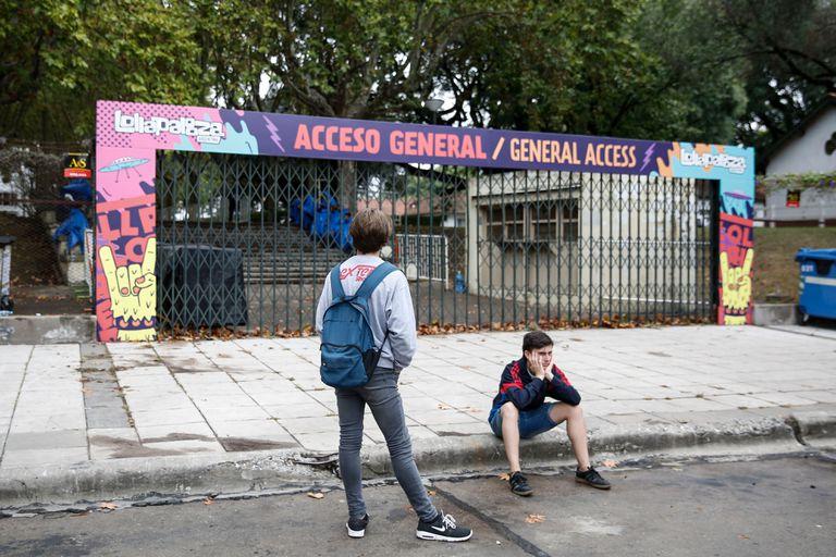 Muchos fanáticos se quedaron con las ganas de disfrutar de la tercera jornada del festival