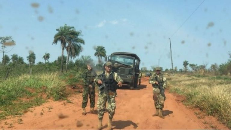 Los militares fueron atacados en el norte del país