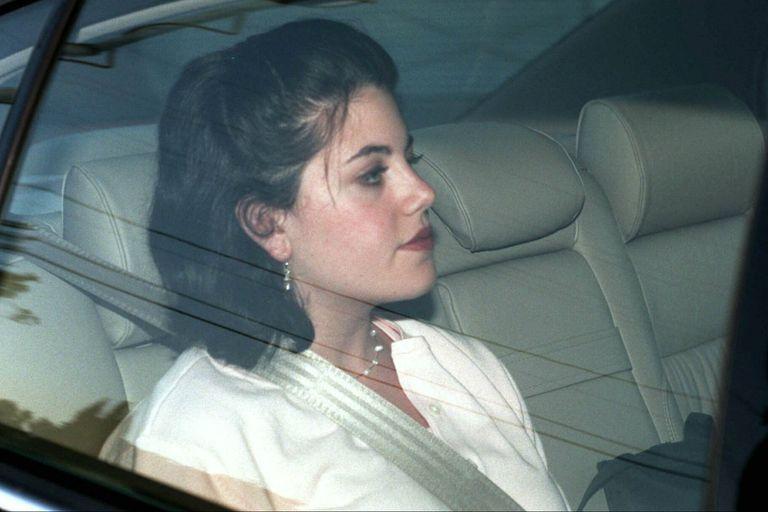 Monica Lewinsky, en 1998, cuando explotó el escándalo por su affaire con el expresidente Bill Clinton