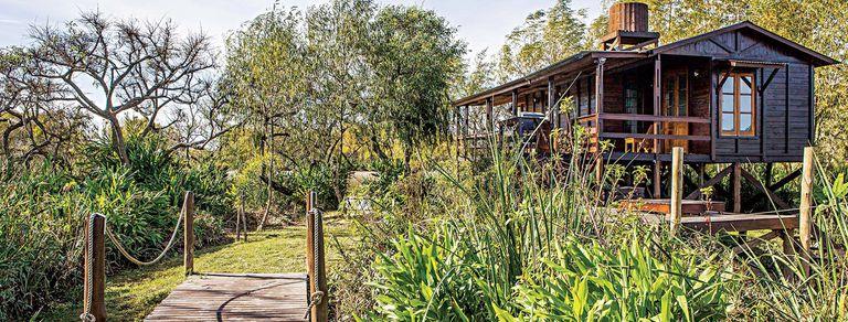 Una cabaña en el Delta para desconectar de cara al Paraná
