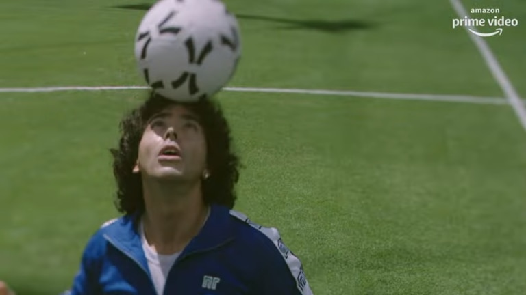 Amazon Prime publicó nuevas imágenes de la serie sobre Diego Maradona