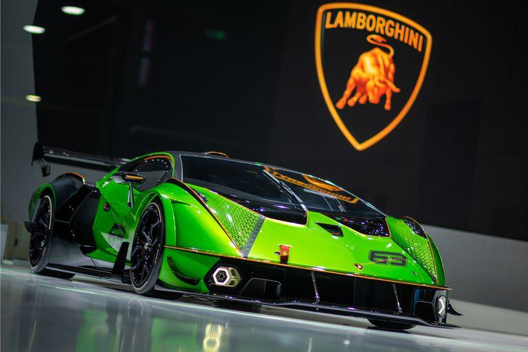 El Lamborghini Essenza SCV12 se exhibió en el Salón de Shanghai