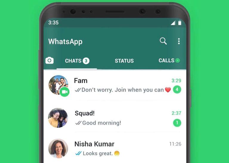 WhatsApp ahora permite unirse a las videollamadas grupales en curso directamente desde el chat