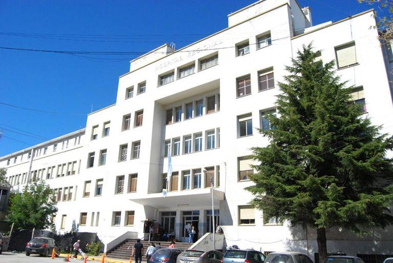 El hospital de Comodoro Rivadavia, donde ocurrió el hecho